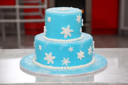 Snow Day Cake