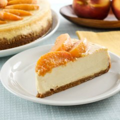 Texas Peach Cheesecake