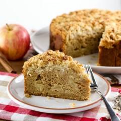 Sweet Potato Apple Crumb Coffee Cake