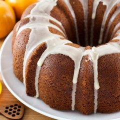 Orange Honey Pound Cake